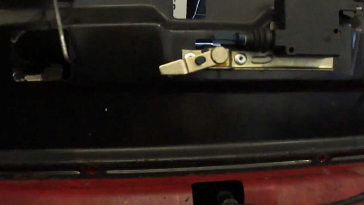 Lift Gate Repair >> 2001 Chevy Blazer lift gate repair Part 2 - YouTube