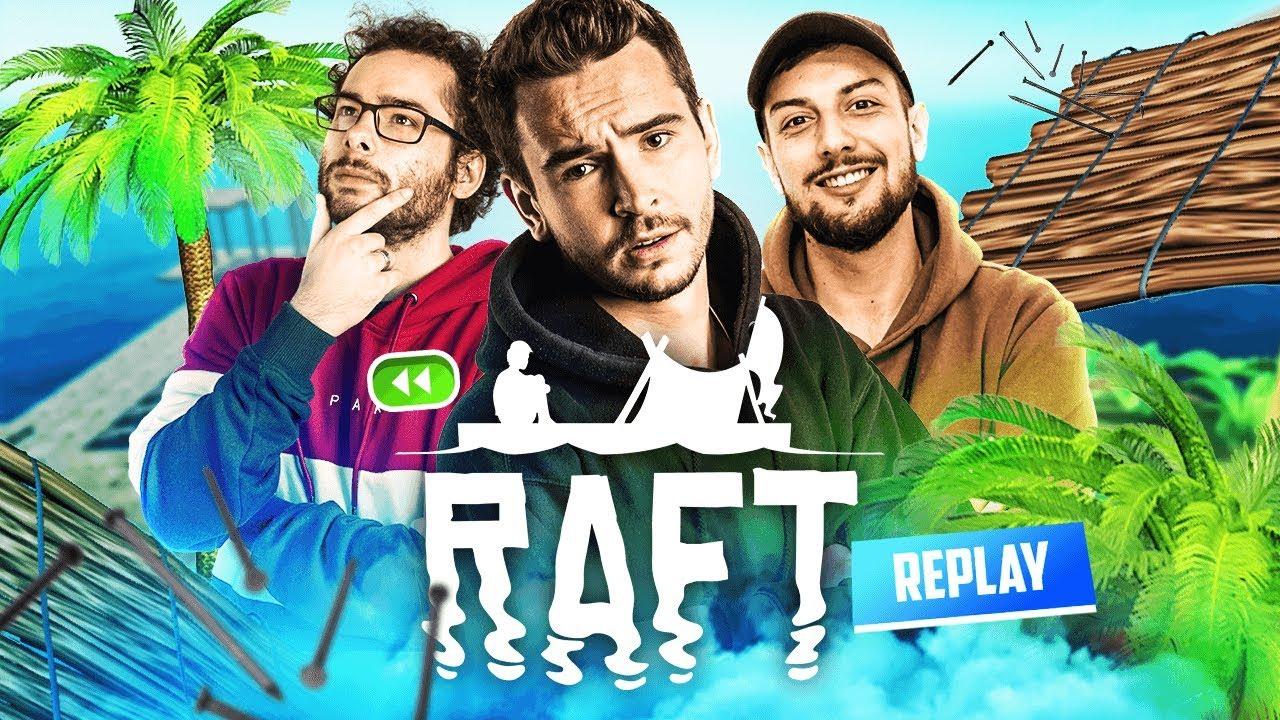 Download COMMENT SURVIVRE sur un RADEAU avec trois potes ? ► Aventure Raft avec Xari, Théo & Nil #1