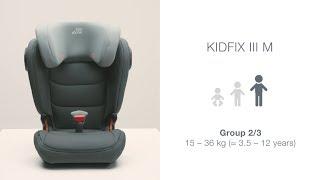 Video: Britax Kidfix III M Car Seat