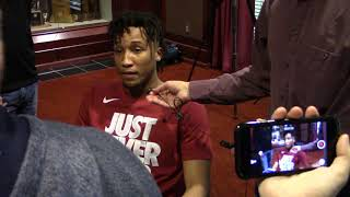 Dazon Ingram reacts to NCAA selection, Virginia Tech as an opponent