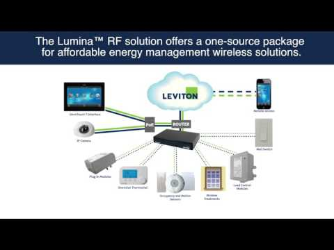 Energy Management Control From Touchscreen With Leviton Lumina Rf