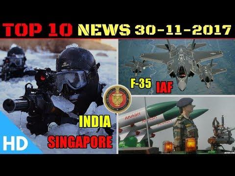 Indian Defence Updates : India Singapore Defence, F-35 India, Chabahar Port, UAE India Order