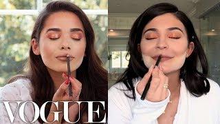 Kylie Jenner'ın Vogue İçin Yaptığı Makyajı Yapıyorum