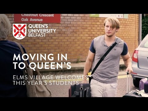 Moving in to Queen's University