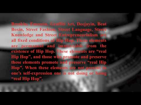 Meaning Of Real Hip Hop From the Gospel Of Hip Hop - Realest Reeken Speaks On The Topic