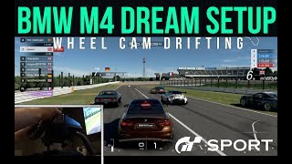 GT Sport: Online Drifting With the BMW M4 | Logitech G29 WHEEL CAM