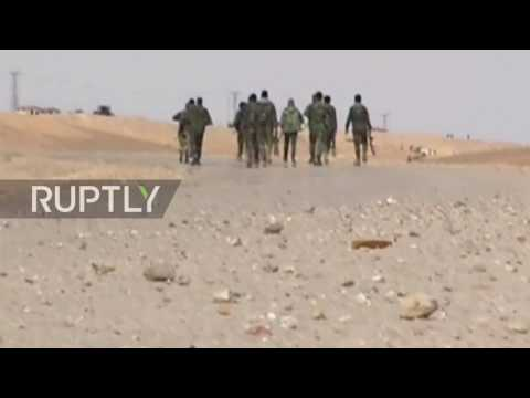 Syria: SAA retakes control of gas field in Homs province
