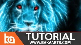 Beginner PhotoManipulation #4   Glowing Animals aka Fractalius Filter