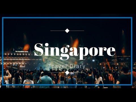Singapore (Little India, Chinatown, Marina Bay) - Travel Diary [Sony A6000]