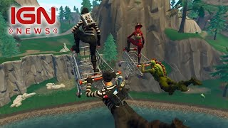 Fortnite sur Switch Hits 2 Millions de téléchargements - IGN News E3 2018