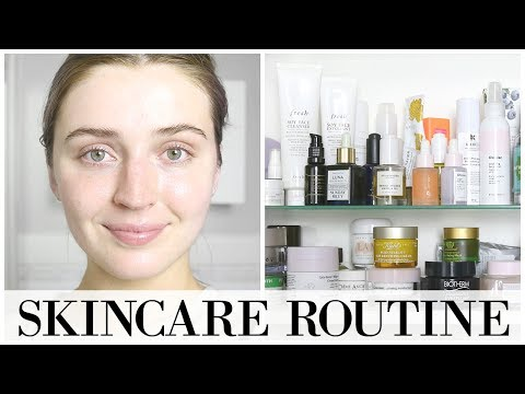 My FULL Day + Night Skincare Routine 💦 | allanaramaa