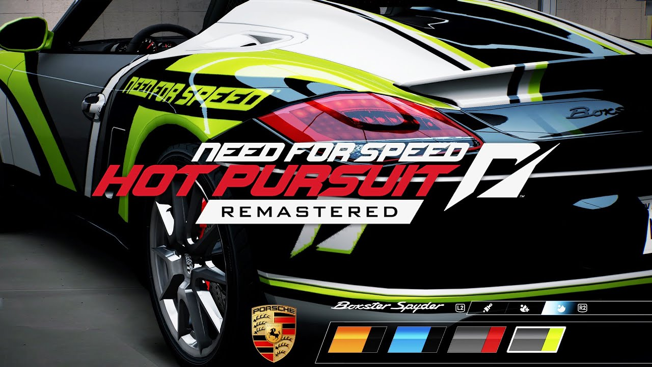Need for Speed Hot Pursuit Remastered - NEW Next Gen Update & Wrap Editor (PS5 4k 60fps)
