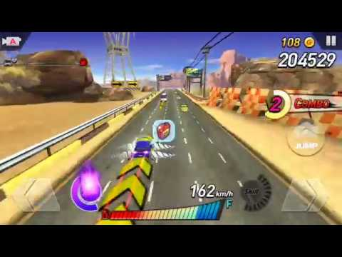 Rush N Krush (by Netmarble Games) - racing game for android - gameplay.