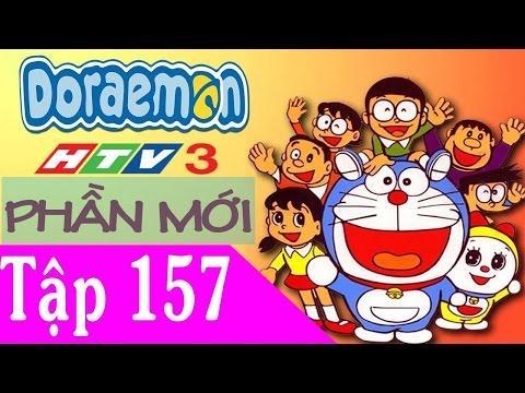 Doremon Tiếng Việt HTV3 Tập 157  Con voi biến hình & Kẹo cao su biến hình