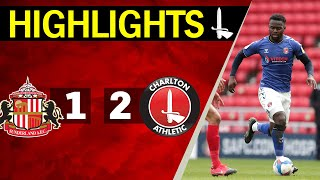 SUNDERLAND 1-2 CHARLTON | Sky Bet League One Highlights (April 2021)