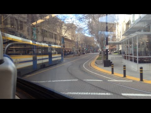 Riding SACRT Light Rail 8th & Capitol to Globe Avenue (Blue Line)