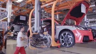 Как делают Audi TT RS  How to make the Audi TT RS