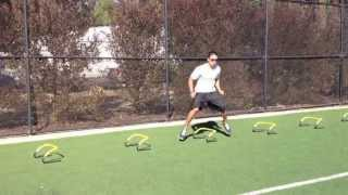 Hurdle Drills: Lateral Runs | Sweat City Athletic Performance Training
