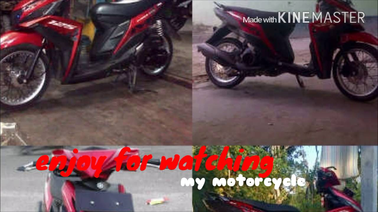 kumpulan modifikasi mio m3 red