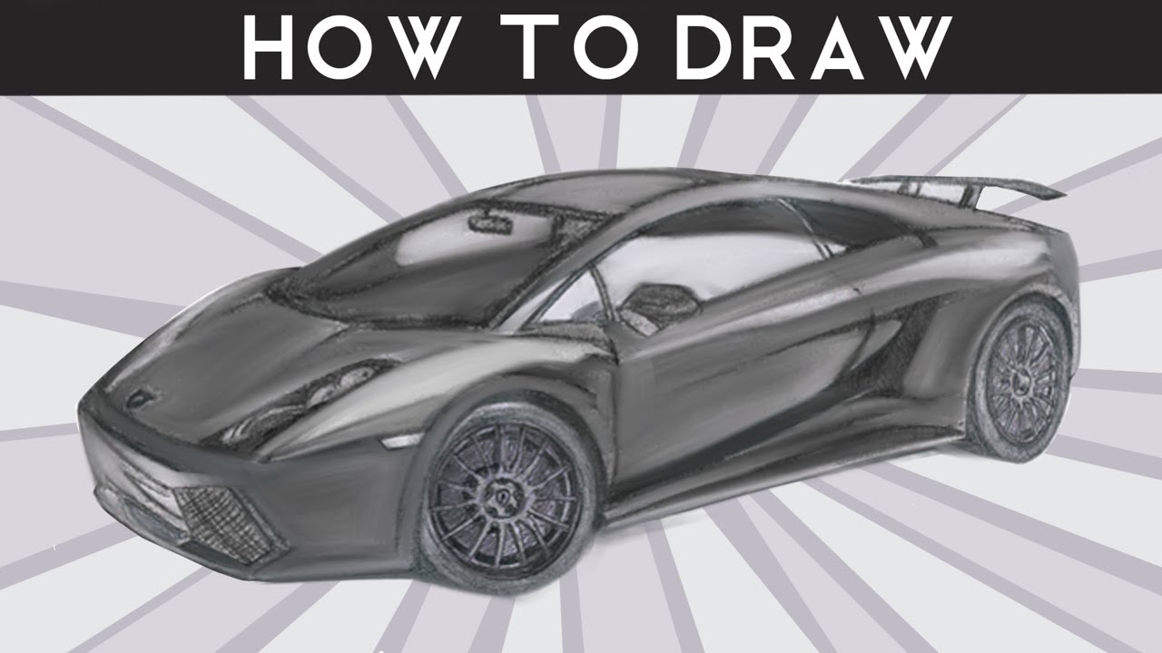 HOW TO DRAW a Lamborgh...