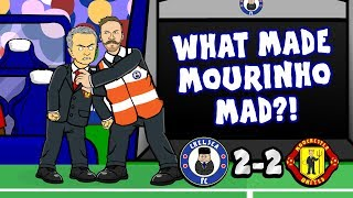 Download Video 👿MOURINHO SEES RED!👿 Chelsea vs Man Utd 2-2 (Parody Cartoon 2018) MP3 3GP MP4