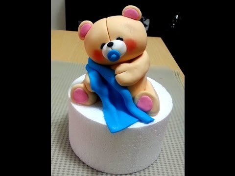 How To Make A Forever Friends Bear Topper Part 1 Youtube