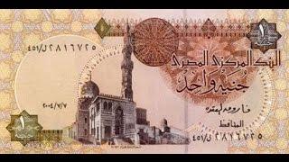 آراء المواطنون حول عودة الجنيه المصرى الورقى
