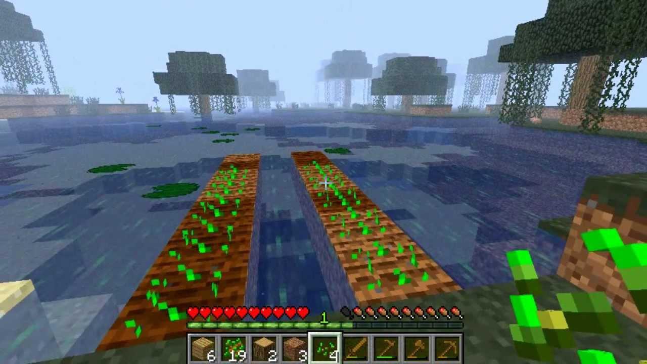 Minecraft Serie Sobrevive Ep2 Cómo Conseguir Trigo En Minecraft Pan Youtube