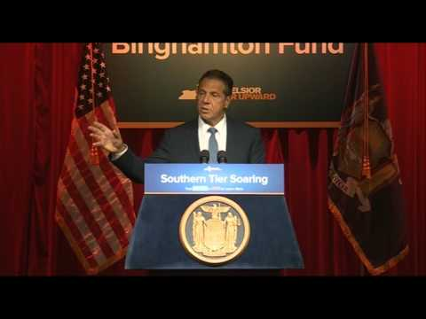 Governor Cuomo Announces $20 Million Greater Binghamton Fund to Transform Urban Districts