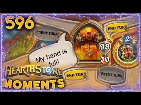 END TURN SIMULATOR!!   Hearthstone Daily Moments Ep. 596