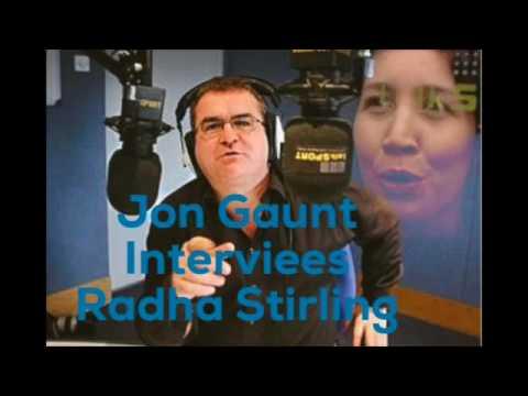 Jon Gaunt Talk 2 Me Radio Interviews Radha Stirling, CEO of Detained in Dubai