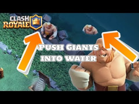 PUSHING TROOPS into WATER in Clash Of Clans