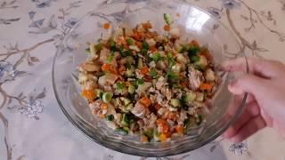 Фитнес-рецепт салата