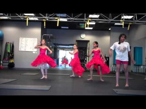 AMNA Dance Private Irvine Youth (Mar 13, 2014) Unconditionally Ghagra Lyrical Jazz Bollywood