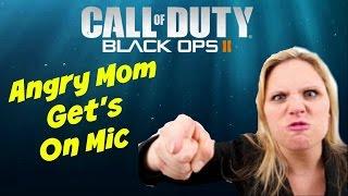 Black Ops 2: Kid Puts Him Mom On The Mic