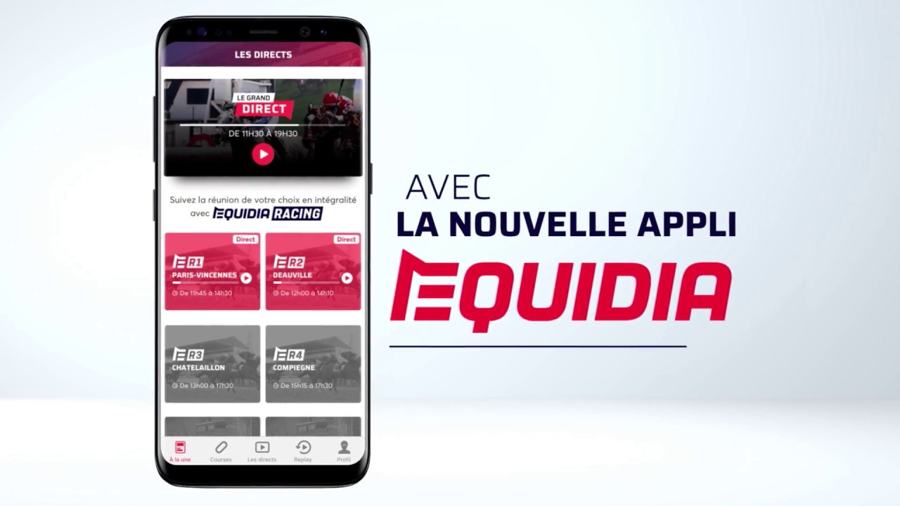 ANDROID TÉLÉCHARGER EQUIDIA LIVE