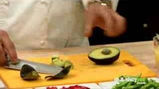 Lebanese Recipes - Salad, Hummus, Lamb Loin And Dessert
