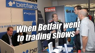Peter Webb, Bet Angel - When Betfair went to trading shows