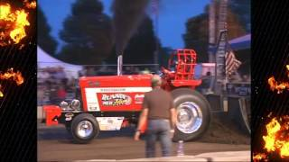 2015 Badger State Tractor Pullers 4.1 LIm Pro Champion Kathy Gallitz Running Red Hot