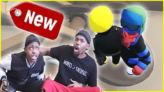 DO NOT Play This Game w/ An Annoying Little Bro! (Human Fall Flat Funny Moments)