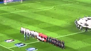 Hymne ligue des champions PSG - real Madrid