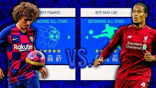 Attacking ALL-STARS vs. Defensive ALL-STARS! - FIFA 19 Career Mode
