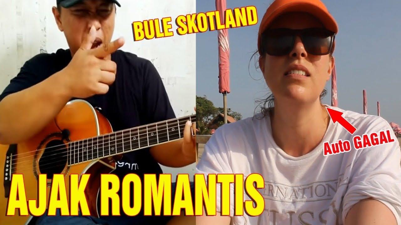 AJAK ROMANTIS‼️Bule Asal Skotlandia Merinding  Melihat Skil Alip Ba Ta