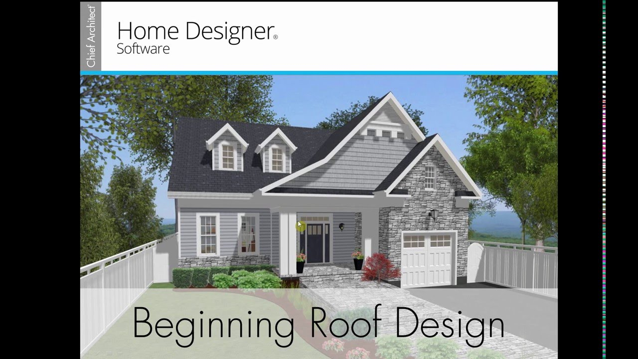 Home Designer 2017 Beginning Roof Design