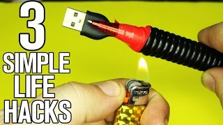 3 Simple Life Hacks You Should Know