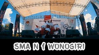 SMA N 1 Wonogiri | Konser Musik KPU Wonogiri | Showcase