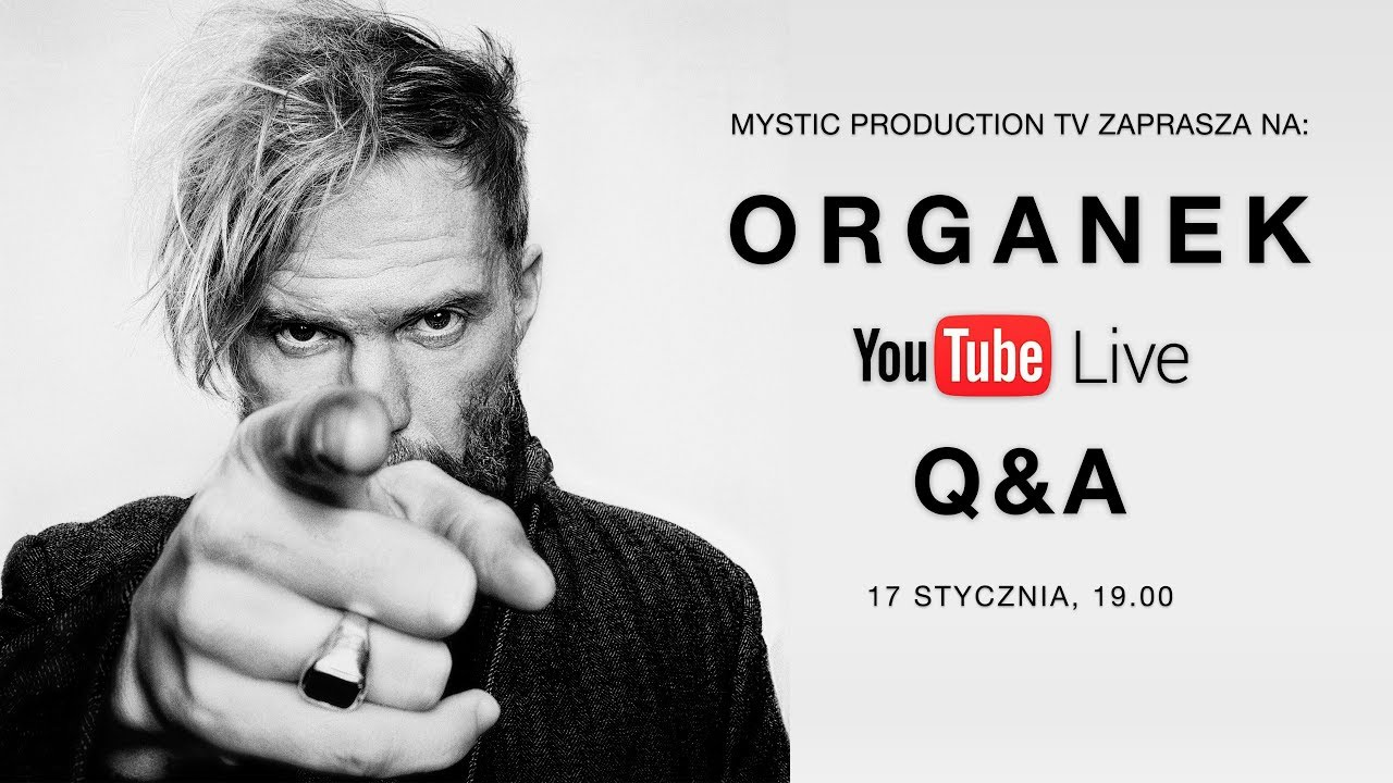 Mystic Production TV – ORGANEK Q&A SESSION LIVE