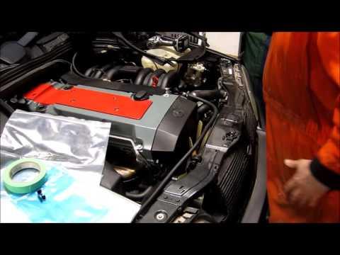 Mercedes Benz W202 C280 Transmission 722.4 Removal