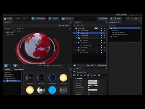 Adobe After Effects 3D Broadcast News Open Tutorial   Element 3D