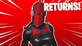 """*LIVE* Fortnite """"RED KNIGHT"""" Skin Returning! ITEM SHOP COUNTDOWN! *NEW* """"Red Knight"""" SKIN GIVEAWAY!"""